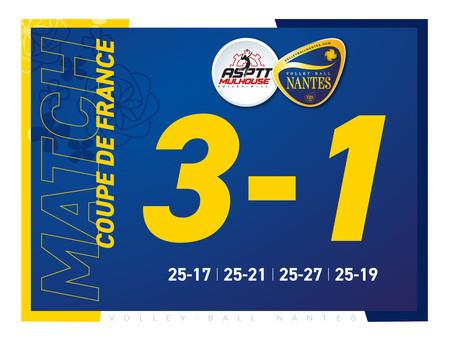Nantes ne verra pas le Final Four de la coupe de France !