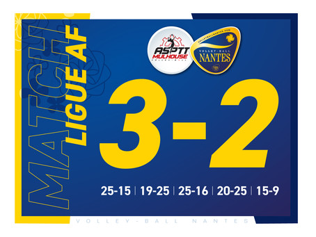 Un point positif pour Nantes face au leader mulhousien !