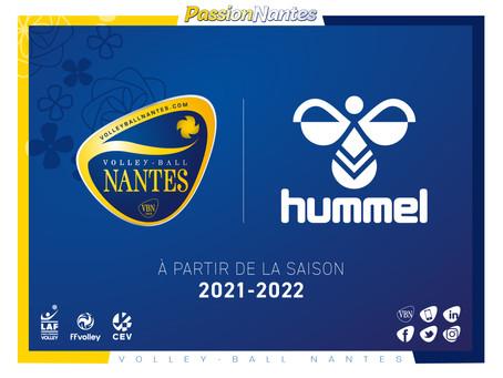 Hummel, nouvel équipementier du VB Nantes !