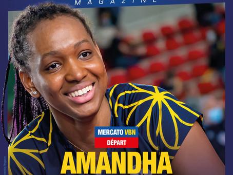 Amandha s'envole en Serie A !