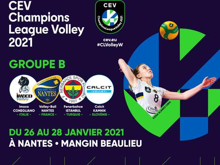 L'événement Champions League arrive à Nantes !
