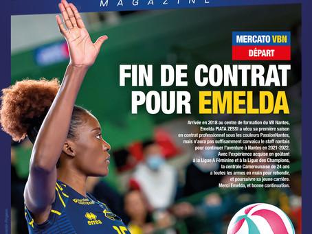 Fin de contrat pour Emelda !