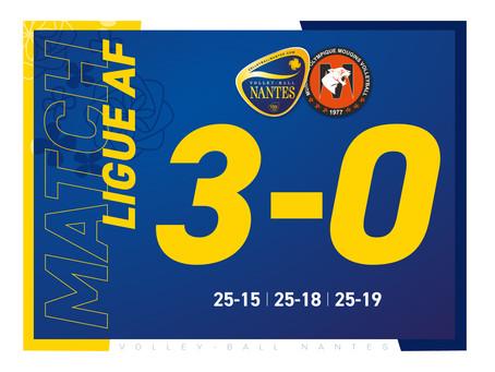 Nantes se relance par un net succès à Mangin Beaulieu !