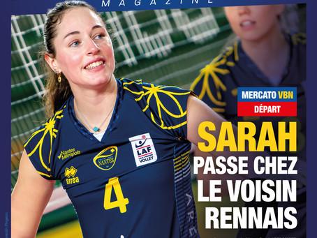 Sarah LECROSNIER rejoint Rennes en division Élite !