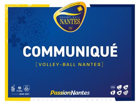 Yaremis Mendaro Leyva quitte prématurément le VB Nantes
