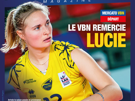 Le VB Nantes remercie Lucie
