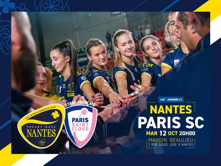 Paris comme seconde affiche à Mangin Beaulieu !