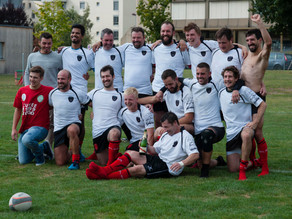Albaladejo Rugby Club Lausanne - RC Solothurn : 43-29 (mi-temps : 23-12)