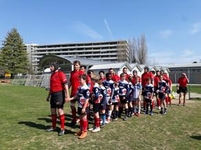 Albaladejo Rugby Club Lausanne vs RC ZOUG 13-12 (mi-temps 6-12)