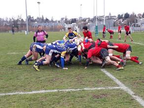 Coupe FSR - Albaladejo Rugby Club Lausanne vs Genève Plan-les-Ouates (9-34)