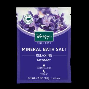 Lavender Bath Salts Satchet