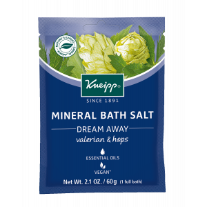 Valerian and Hops Bath Salt Satchet