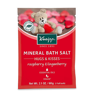 Raspberry & Lingonberry Bath Salt Satchet