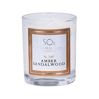 Amber Sandalwood Votive