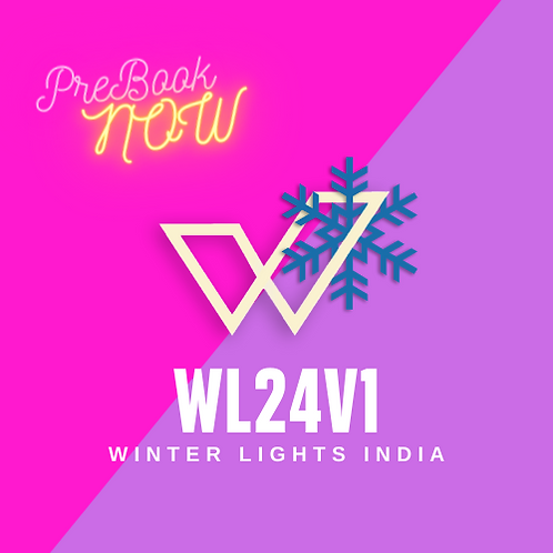 Winter Lights WL24v1 (PRE-BOOK)
