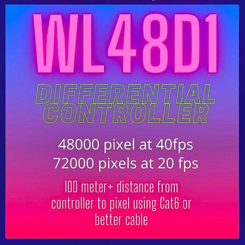 Winter Lights WL48D1 - 72000 Pixel  Differential Controller   Long Distance