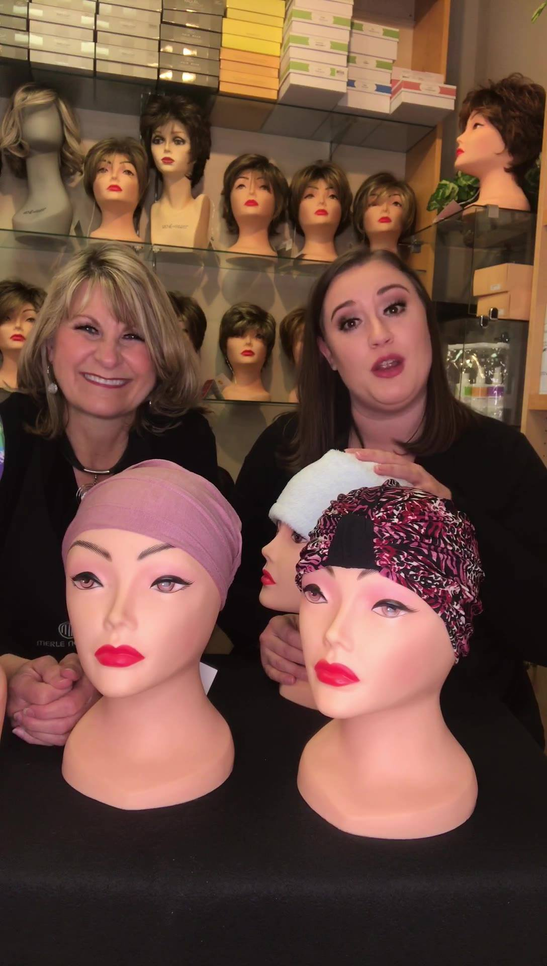 Sharing a variety of turban styles we carry in our Wig Boutique in today's video!