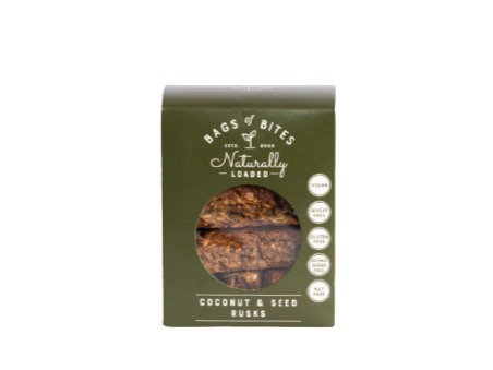 COCONUT & SEED RUSKS 380G