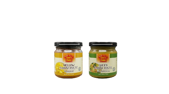CHEF'S CHOICE CURRY PASTE 220G
