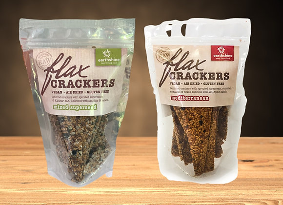 FLAXSEED CRACKERS 90G