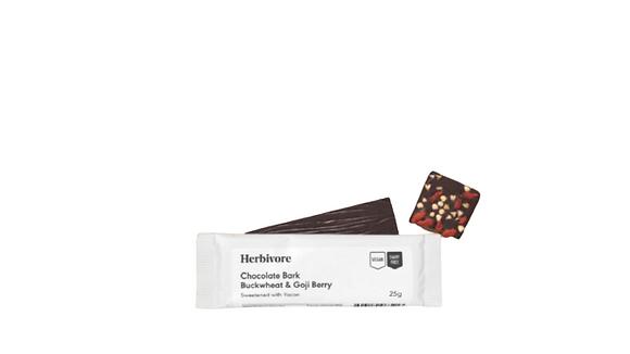 CHOCOLATE BARK- BUCKWHEAT & GOJI 25G