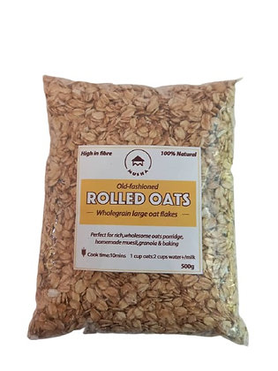 ROLLED OATS 500G