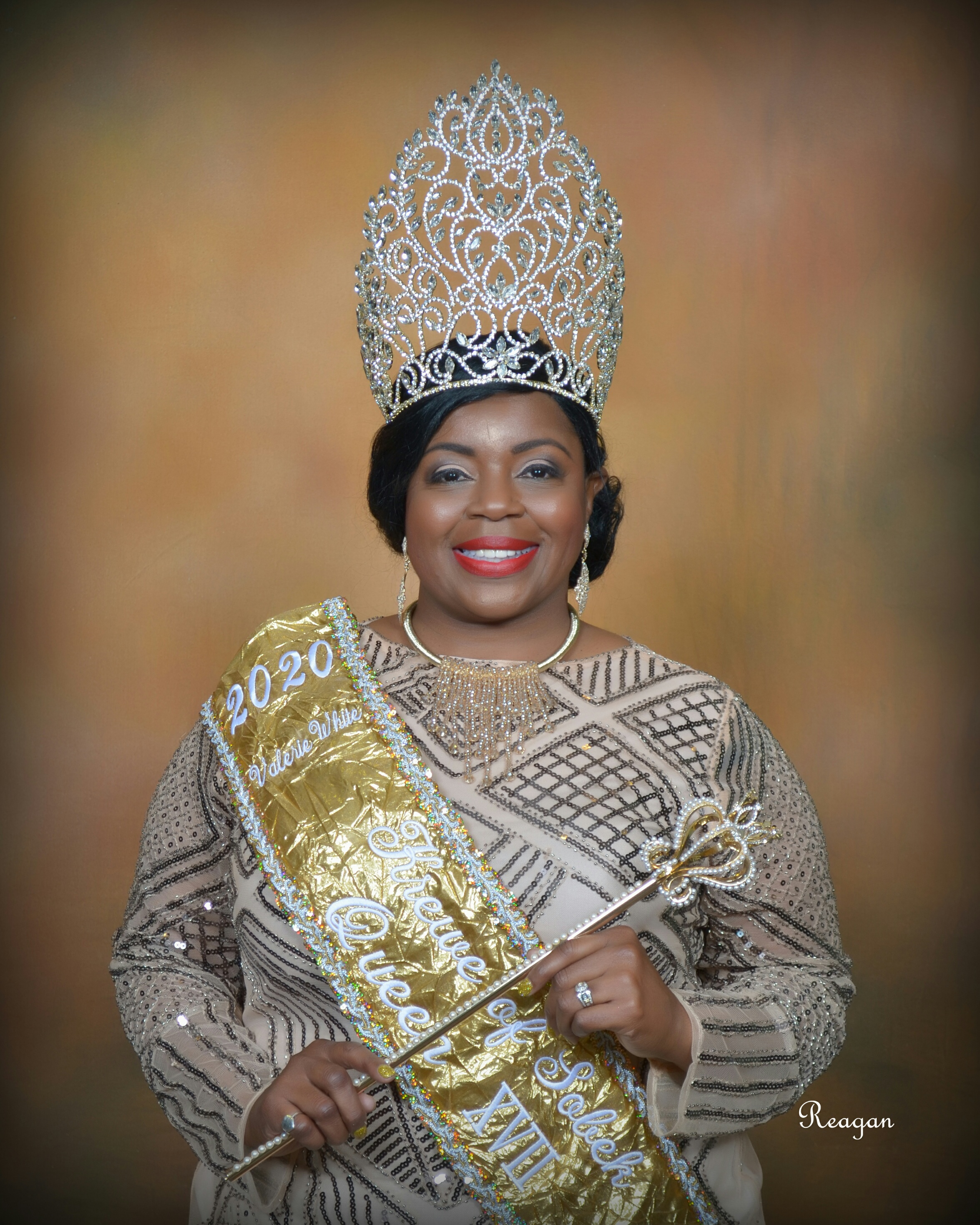 Queen XVII Valerie Thomas-White