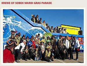 Thumbnail of KSLA article on Krewe of Sobek