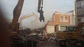 Demolición del antiguo Sanatorio San Julián