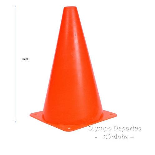 CONO PLASTICO RIGIDO 30 CM