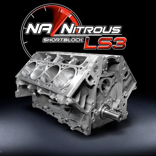 NA/Nitrous 416 Stroker LS3 Shortblock