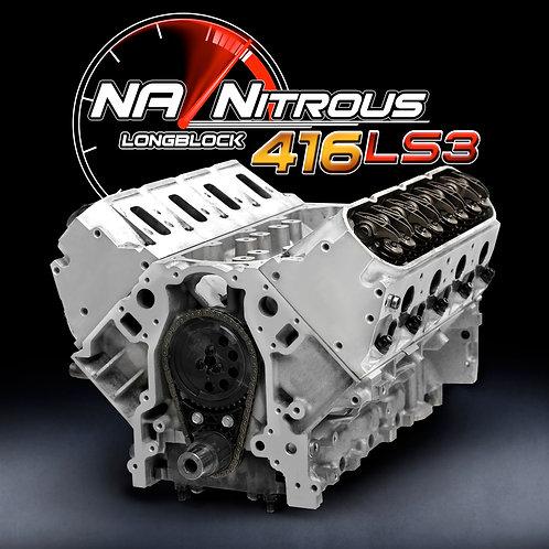NA/Nitrous 416 Stroker LS3 Longblock