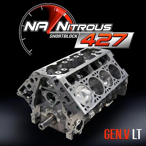 NA/Nitrous 427 Sleeved LT Shortblock
