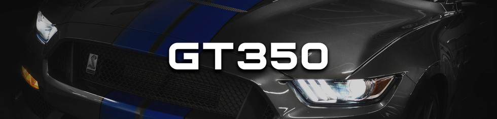 GT350 Packages