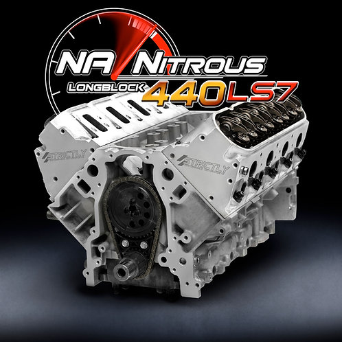 NA/Nitrous LS7 440 Stroker Longblock