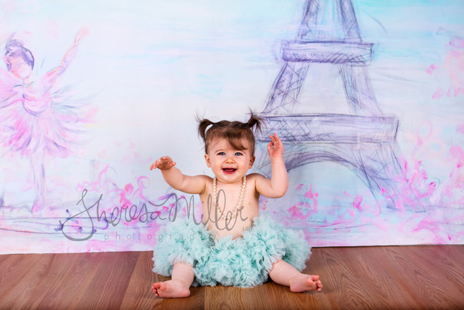 Emelia-- A ballerina baby in Paris {In Northeast Ohio}