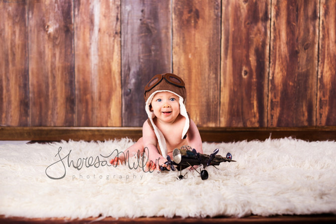 Timmy 6 Month Session | Baby's First Year
