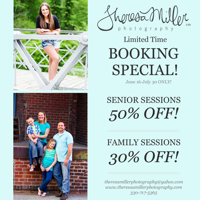 Summer Booking Special!