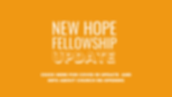 Copy of New Hope Fellowship Weekly Posts