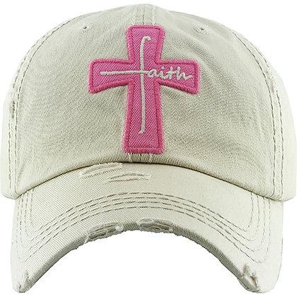 Faith Hat - White