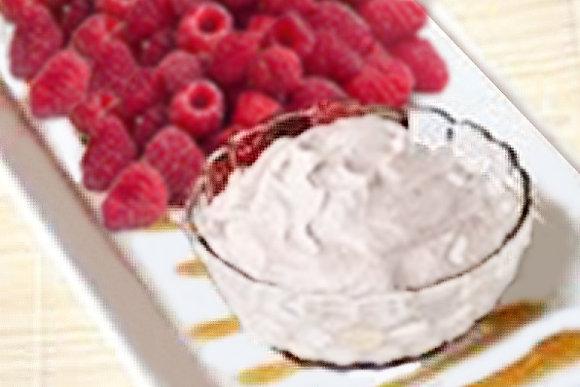 WHITE CHOCOLATE RASPBERRY SWIRL DIP MIX