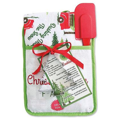 Christmas Pocket Mitt Gift Set - Christmas