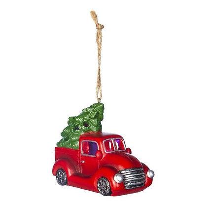 Light Up Truck Christmas Ornament