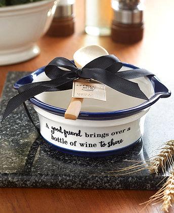 Appetizer Bowl Gift Set - Friend
