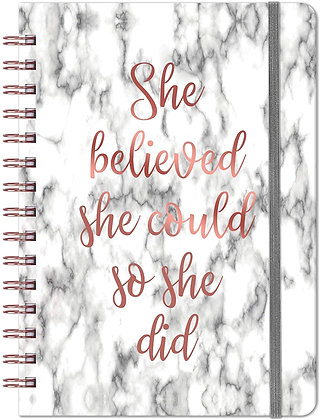 2021 Planner - SHE BELIEVED SHE COULD