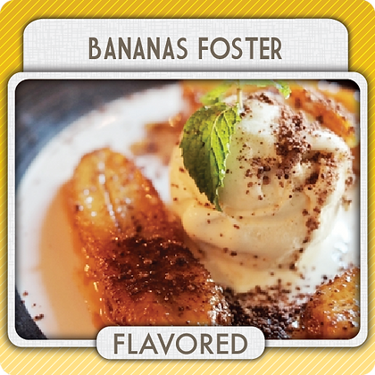 Banana Foster Flavored Coffee- 1/2 lb. size