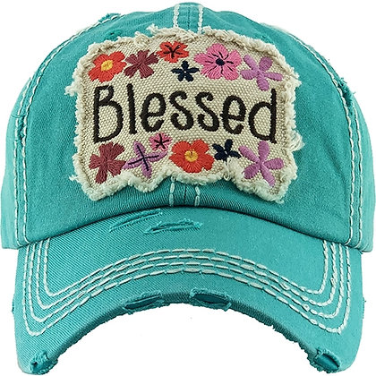 Blessed Hat - Turquoise