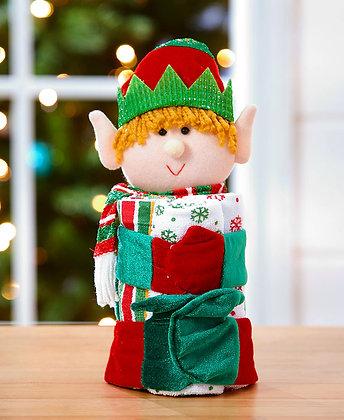 4-Pc. Holiday Gift Towel Set - Elf