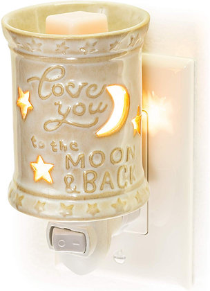 Love You To The Moon and Back Plug In tart Warmer
