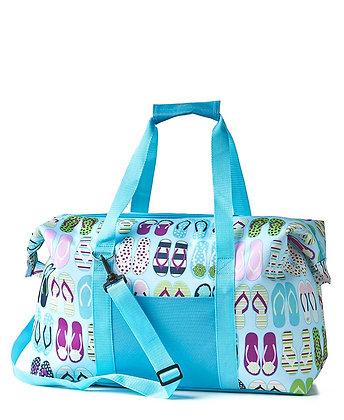 Oversized Insulated Cooler Bag- FLIP FLOPS